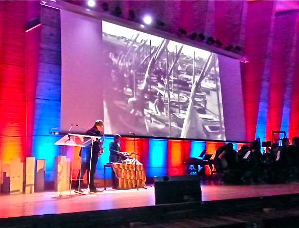 Mère Grand Stefff et Manu scne Unesco