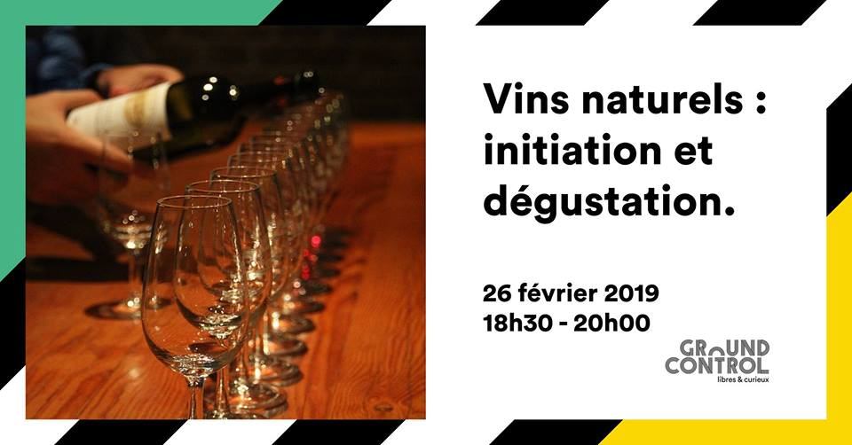 Atelier vins naturels plaquette VIN NATUREL DEGUSTATION STEFFF GOTKOVSKI