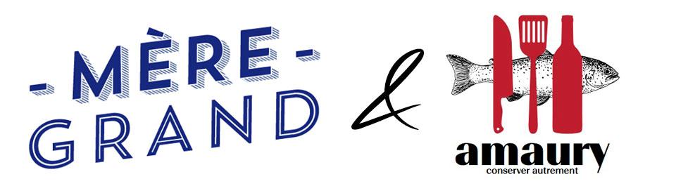 Mere-Grand&Amaury  Amaury Conserver autrement Traiteur Logo MG AMO