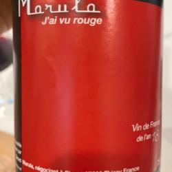 J'ai vu rouge – Marula