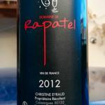Domaine de Rapatel – 2012